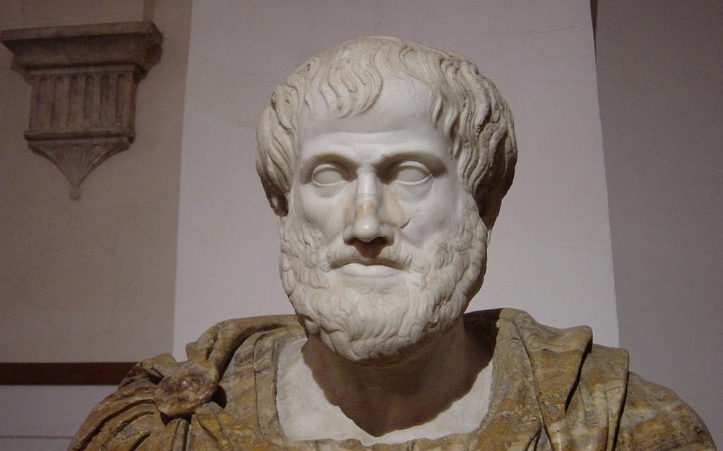 Busto di Aristotele conservato a Palazzo Altaemps, Roma. Foto di Giovanni Dall'Orto