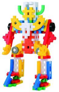 学研ニューブロックで作られたロボットの画像