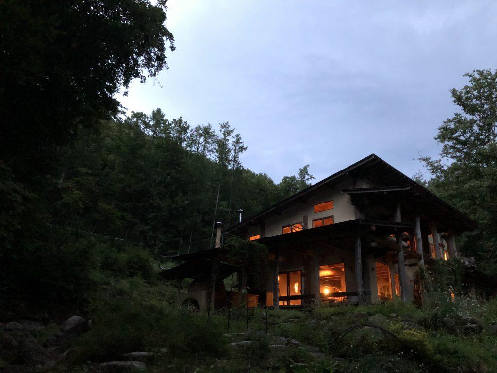 穂高養生園、木と人カフェの写真