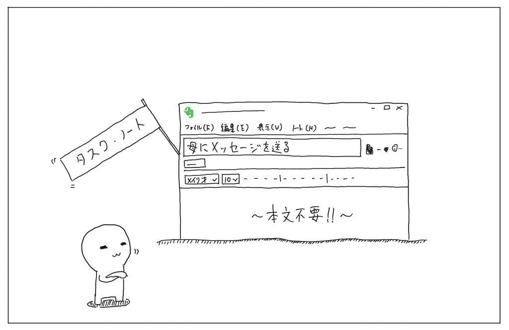 タスクノートのイメージ画像