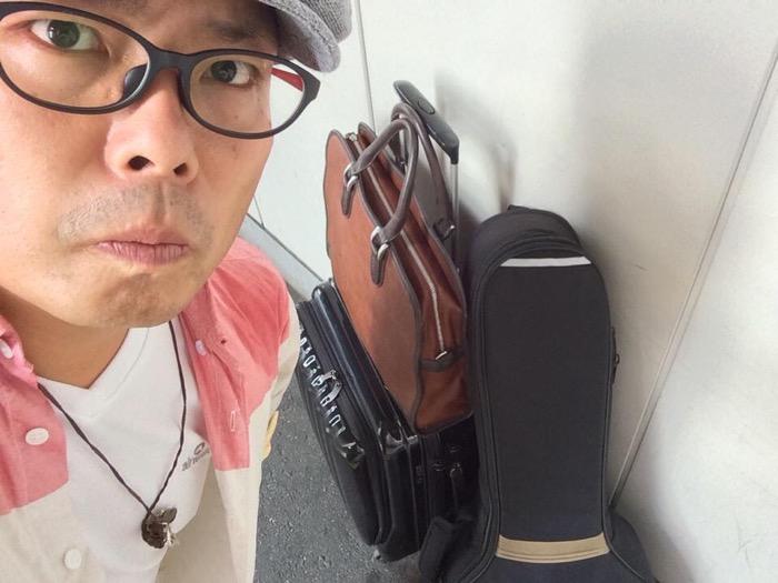 出張で東京にワンマンライブに行った時の画像