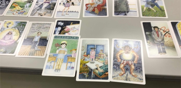 メンタルセラピーで使うカードの画像