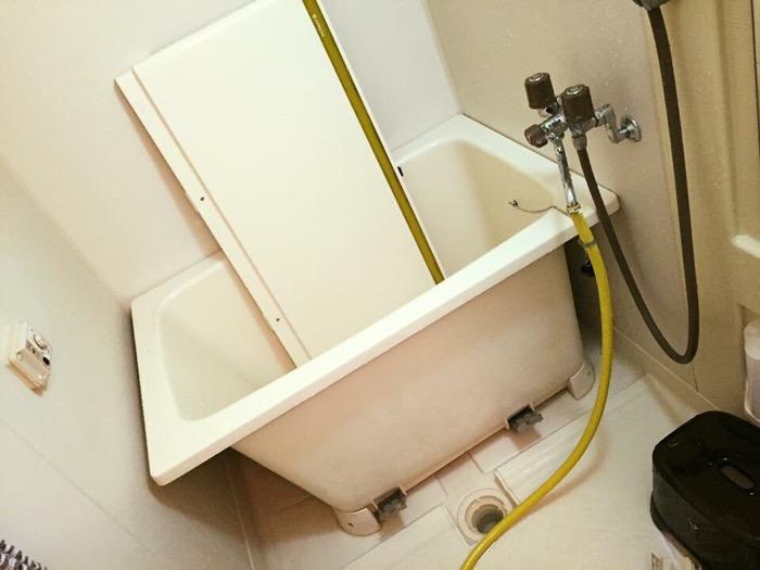 ピカピカになった浴槽の画像